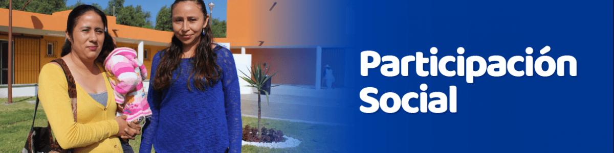 Participación Social - Banner